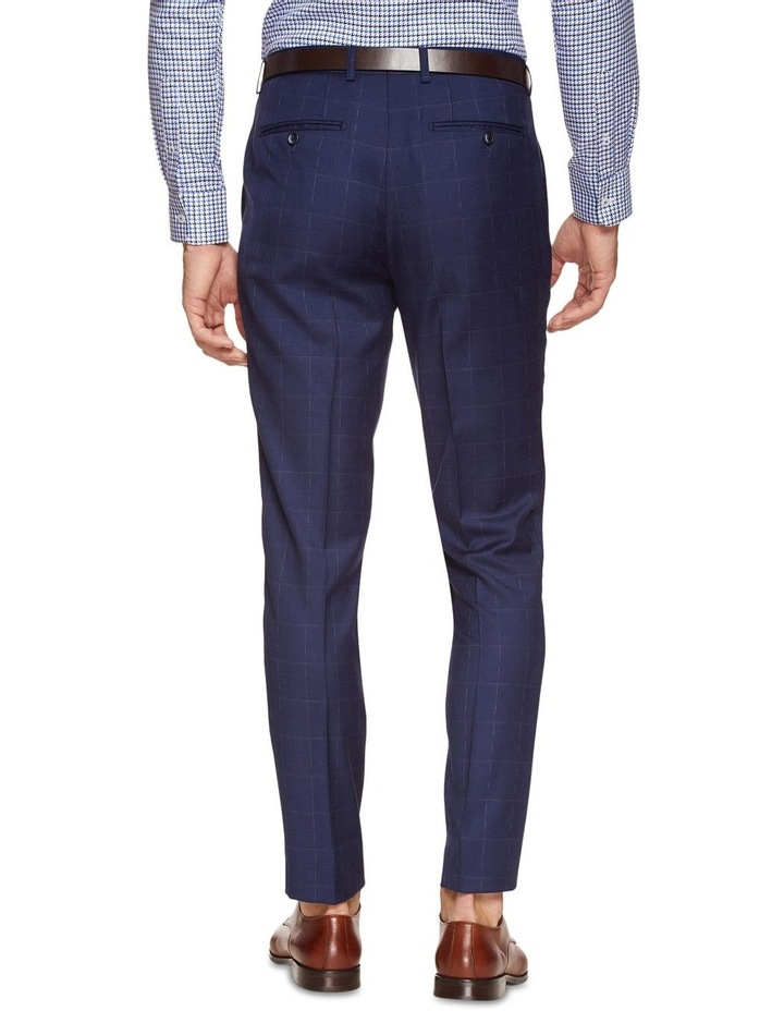 Byron Wool Stretch Check Trousers image 3
