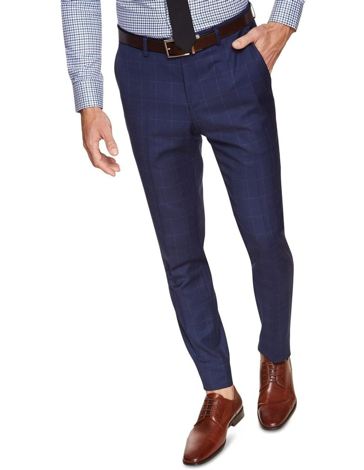 Byron Wool Stretch Check Trousers image 4