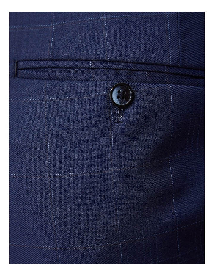 Byron Wool Stretch Check Trousers image 6