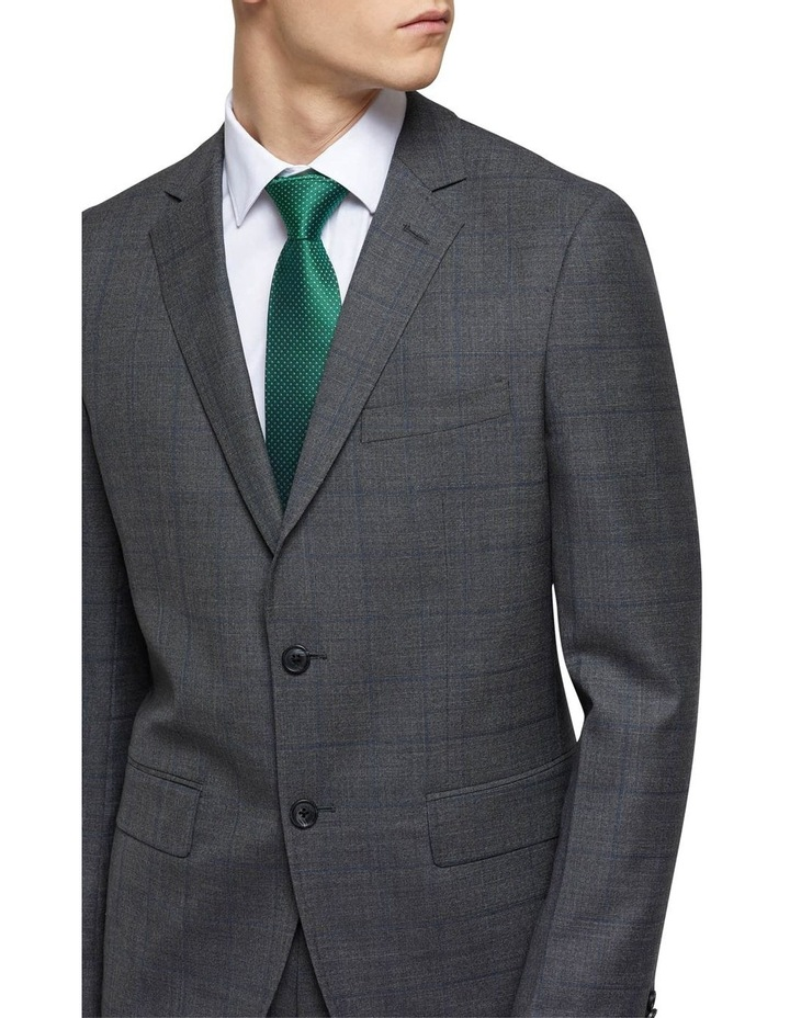 Auden Wool Checked Suit Jacket image 4