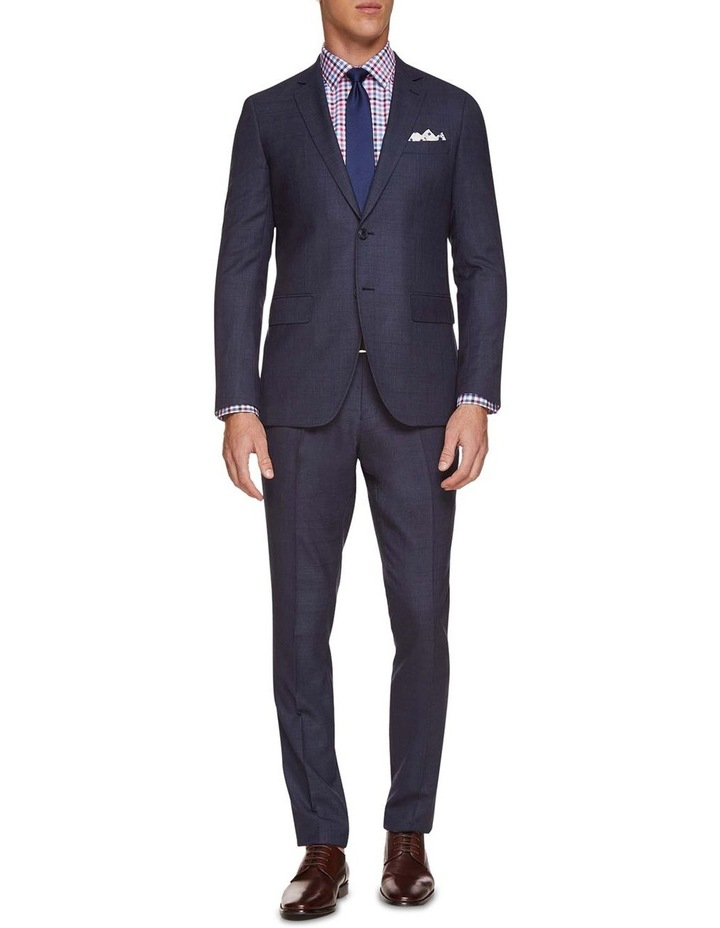 Auden Wool Checked Suit Trousers image 5