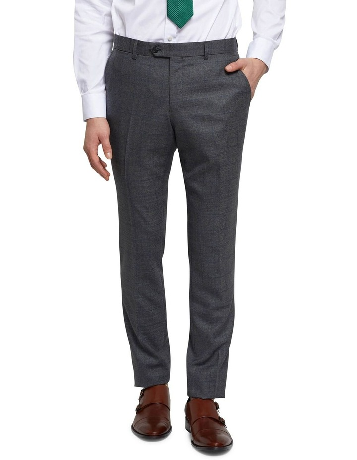 Auden Wool Checked Suit Trousers image 1