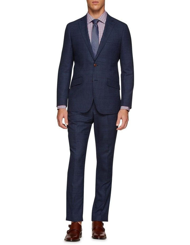 Hopkins Wool Check Suit Trousers image 5