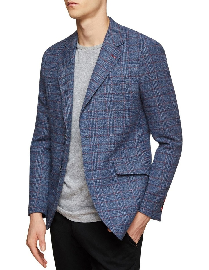 Blake Wool Blend Checked Blazer image 2