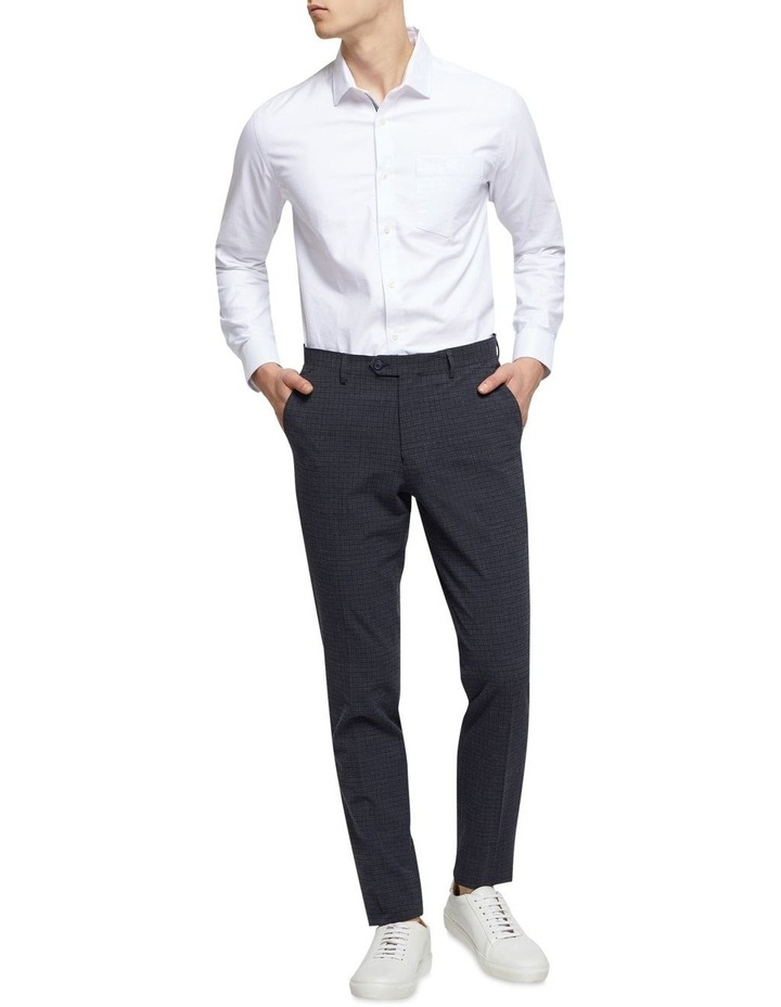 Stretch Checked Trousers image 5