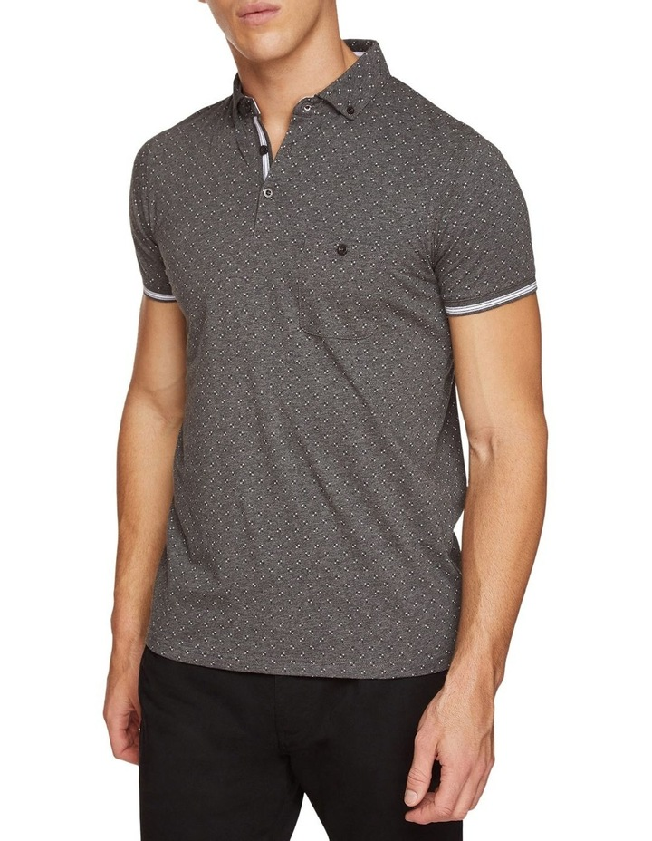 Percy Geo Printed Polo image 1