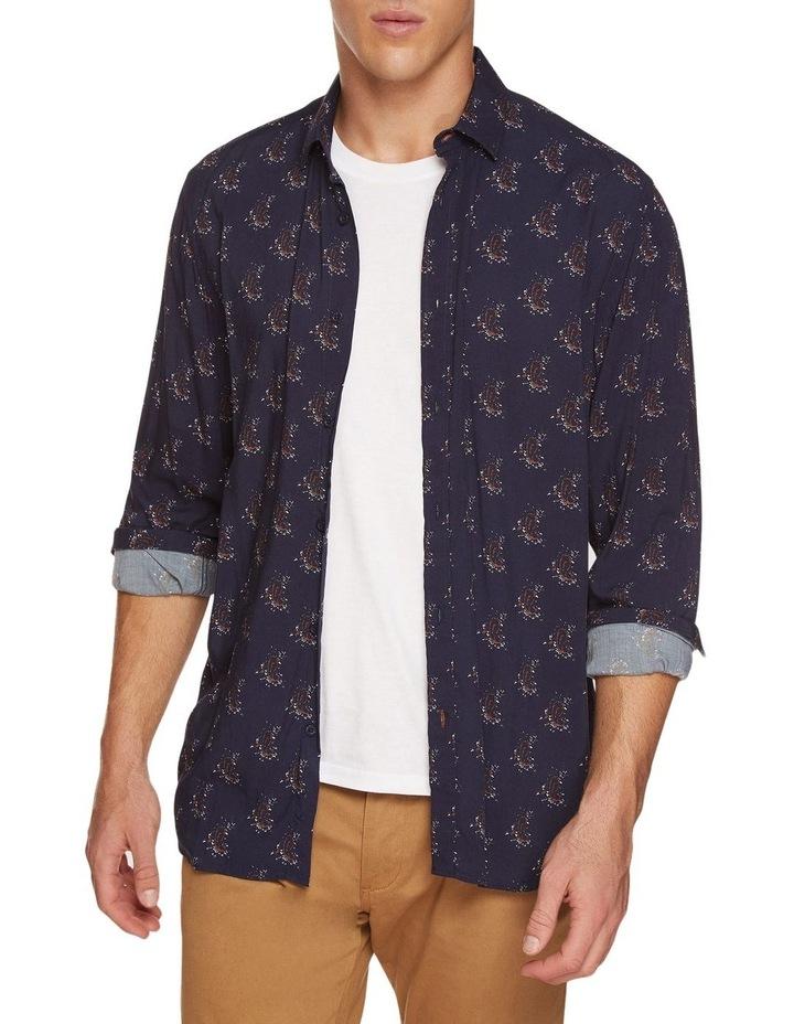 Kenton Paisley Print Regular Shirt image 1