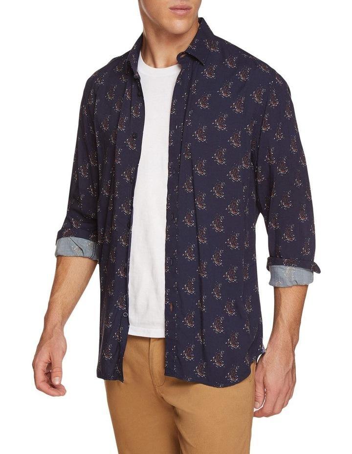 Kenton Paisley Print Regular Shirt image 2