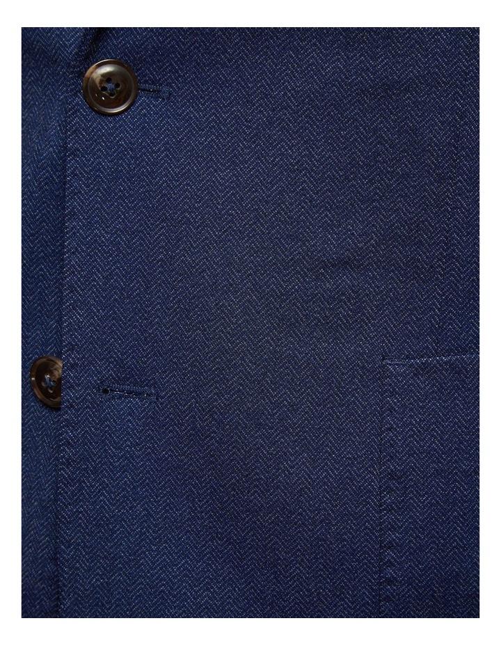 Drydon Herringbone Knitted Blazer image 6