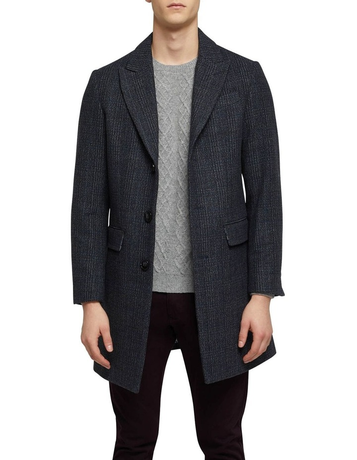 Frost Check Overcoat P image 1