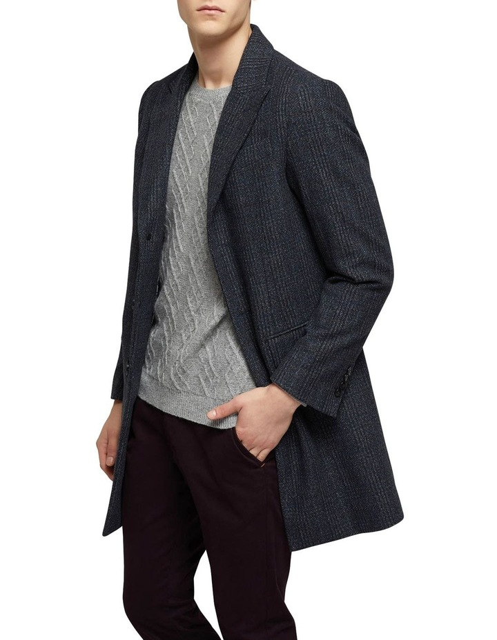 Frost Check Overcoat P image 2