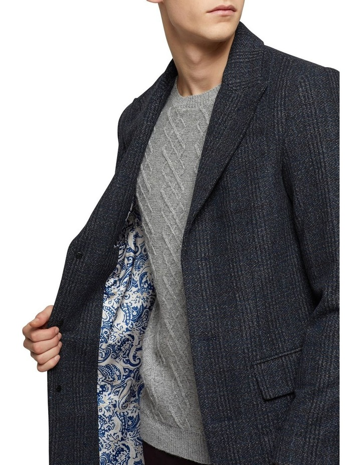 Frost Check Overcoat P image 4