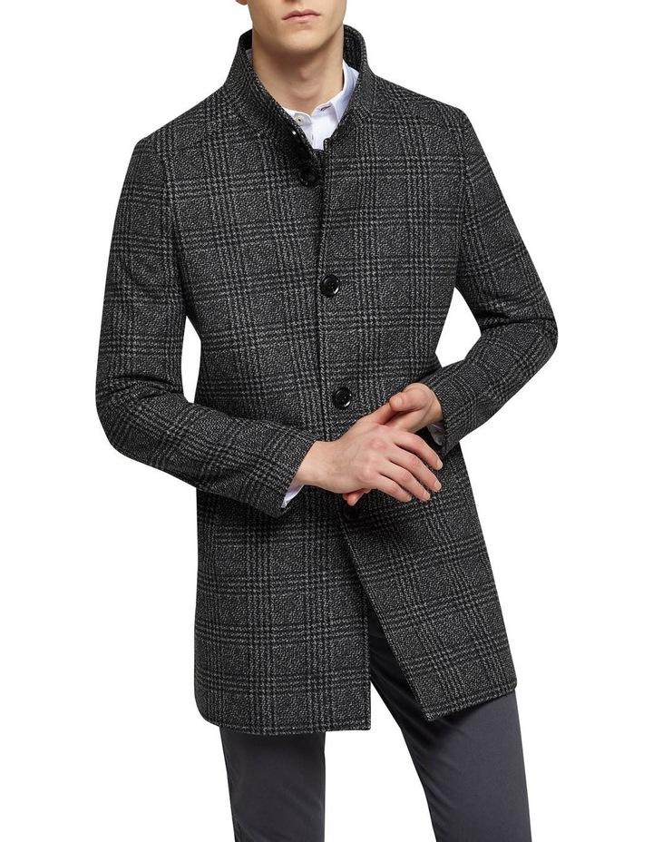 Dunbar Check Overcoat P image 1