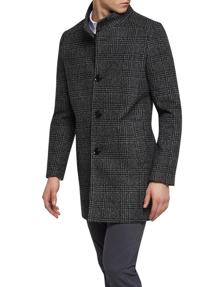 Dunbar Check Overcoat P image 2