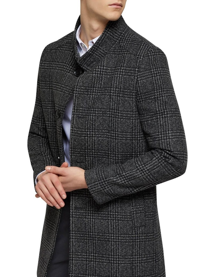 Dunbar Check Overcoat P image 4