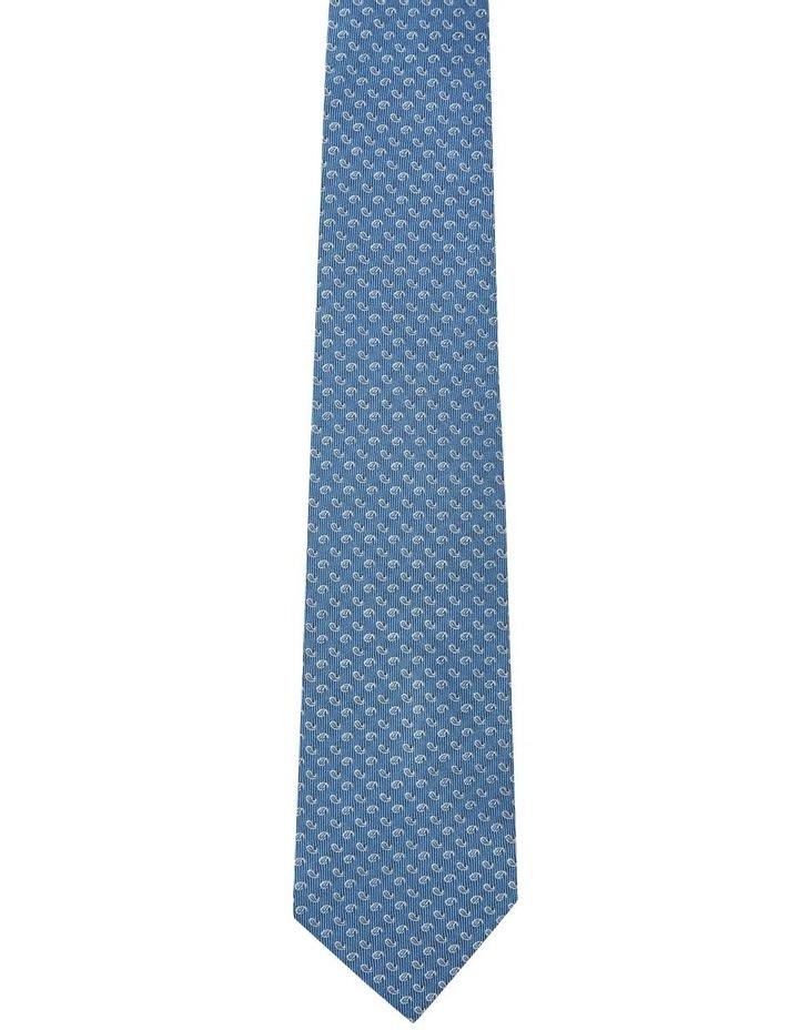 Silk Mini Paisley Tie image 1