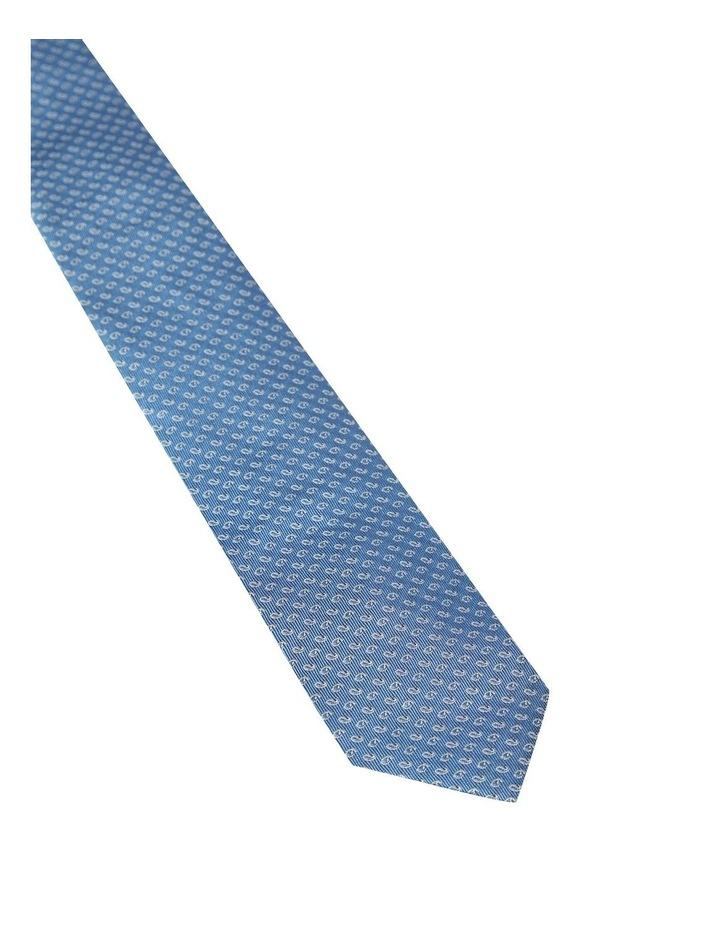 Silk Mini Paisley Tie image 2