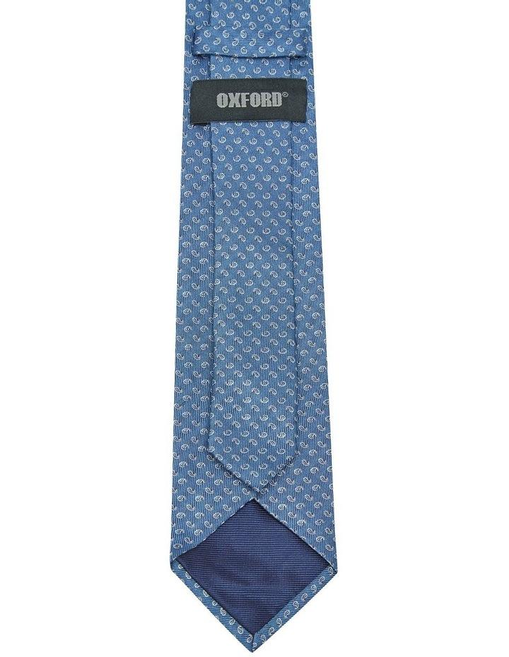 Silk Mini Paisley Tie image 3