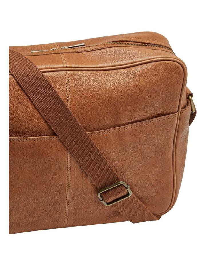 Joyce Leather Messenger Bag image 3