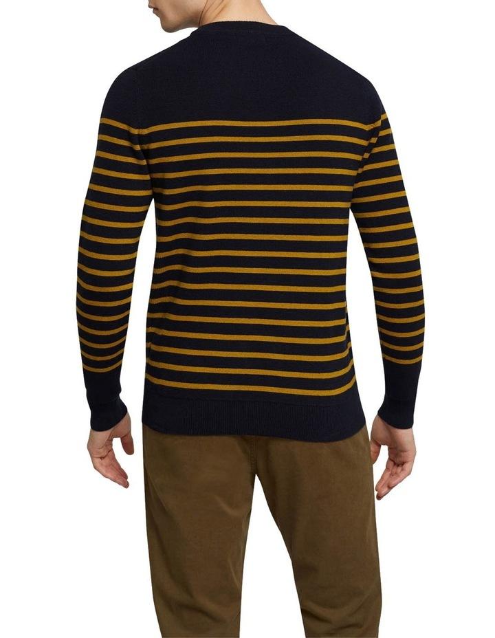 Wyatt Stripe Crew Neck Pullover image 3