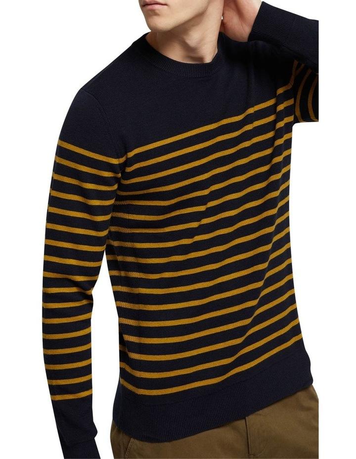 Wyatt Stripe Crew Neck Pullover image 4