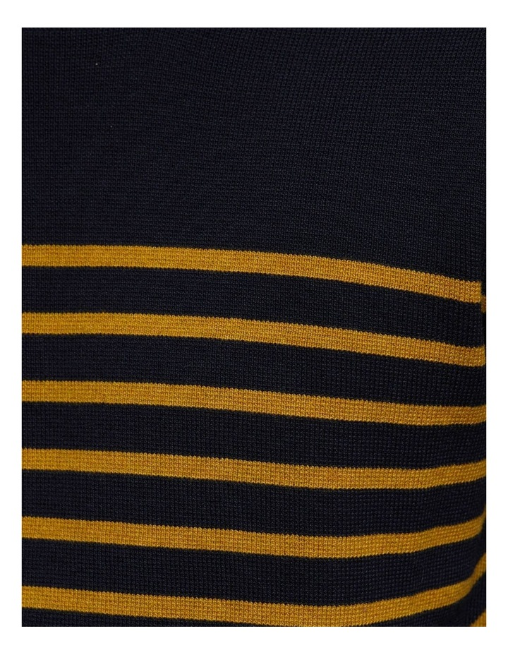Wyatt Stripe Crew Neck Pullover image 6