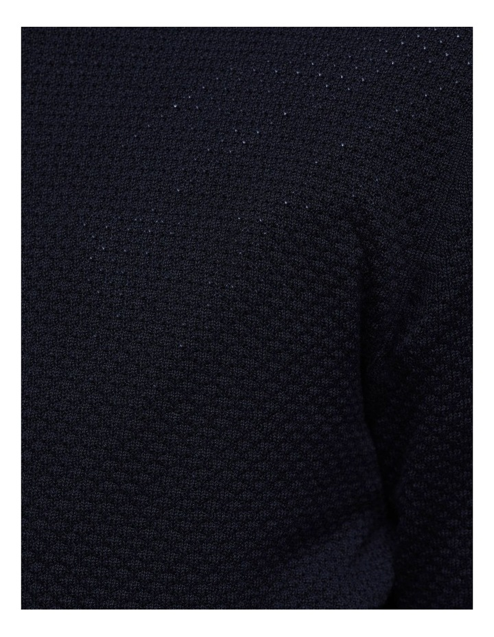 Riley Textured Crew Neck Pullover image 6