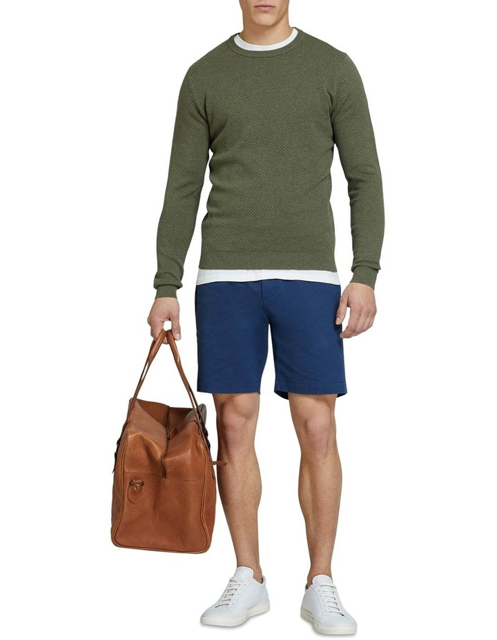 Riley Textured Crew Neck Pullover image 5