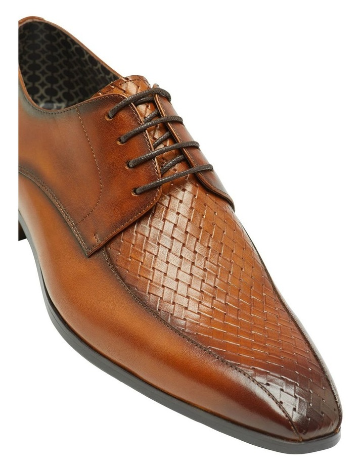 Heaney Woven Leather Derby Shoe image 4