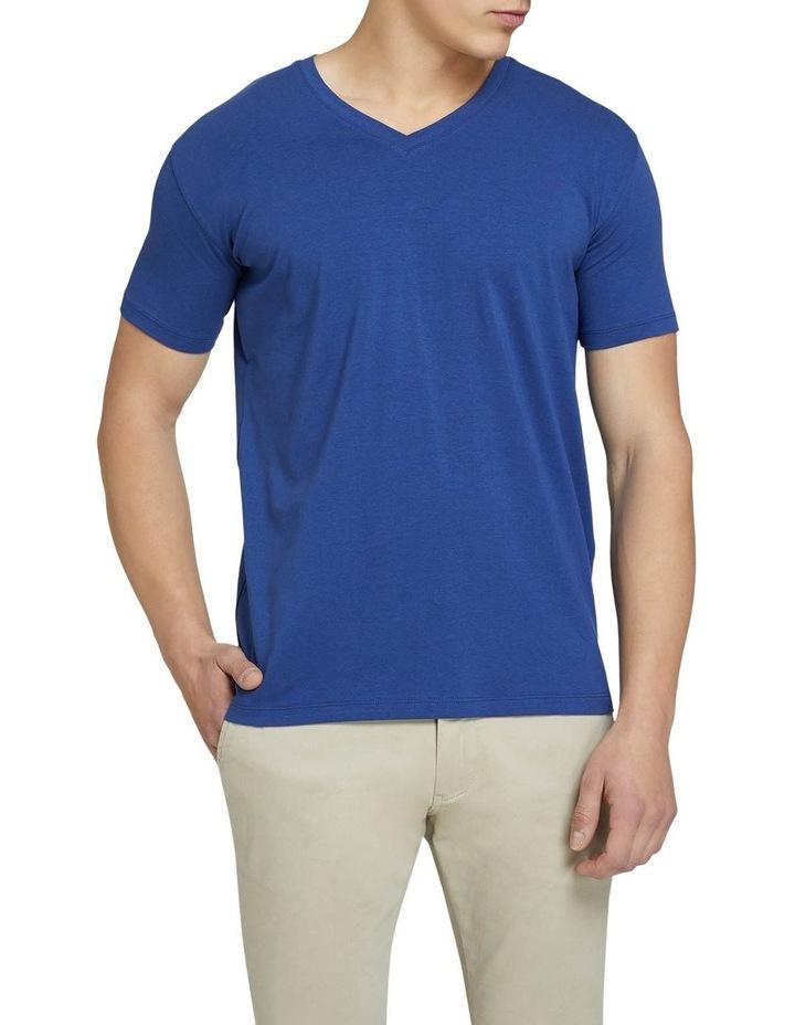 Peter Stretch V-Neck T-Shirt image 1
