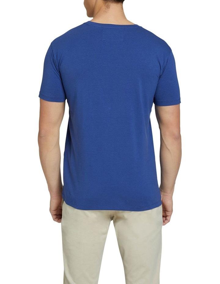 Peter Stretch V-neck T-shirt image 3
