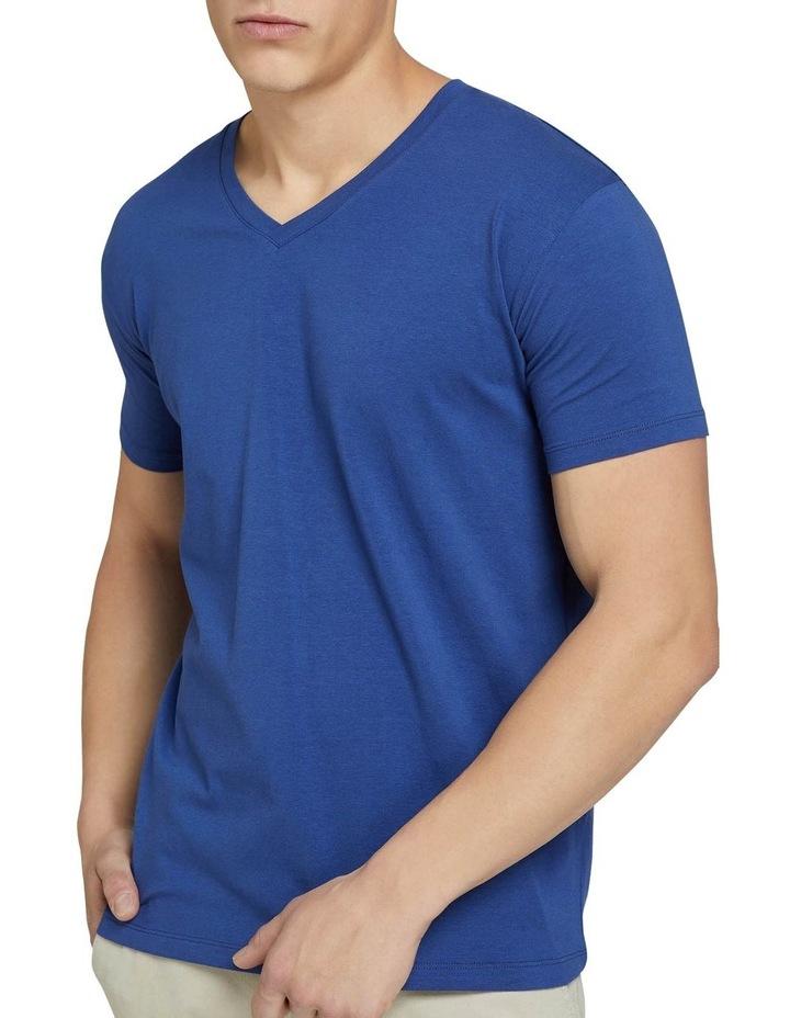 Peter Stretch V-neck T-shirt image 4