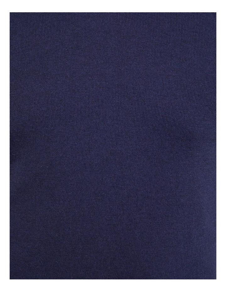 Cotton Cashmere V-Neck Pullover image 6