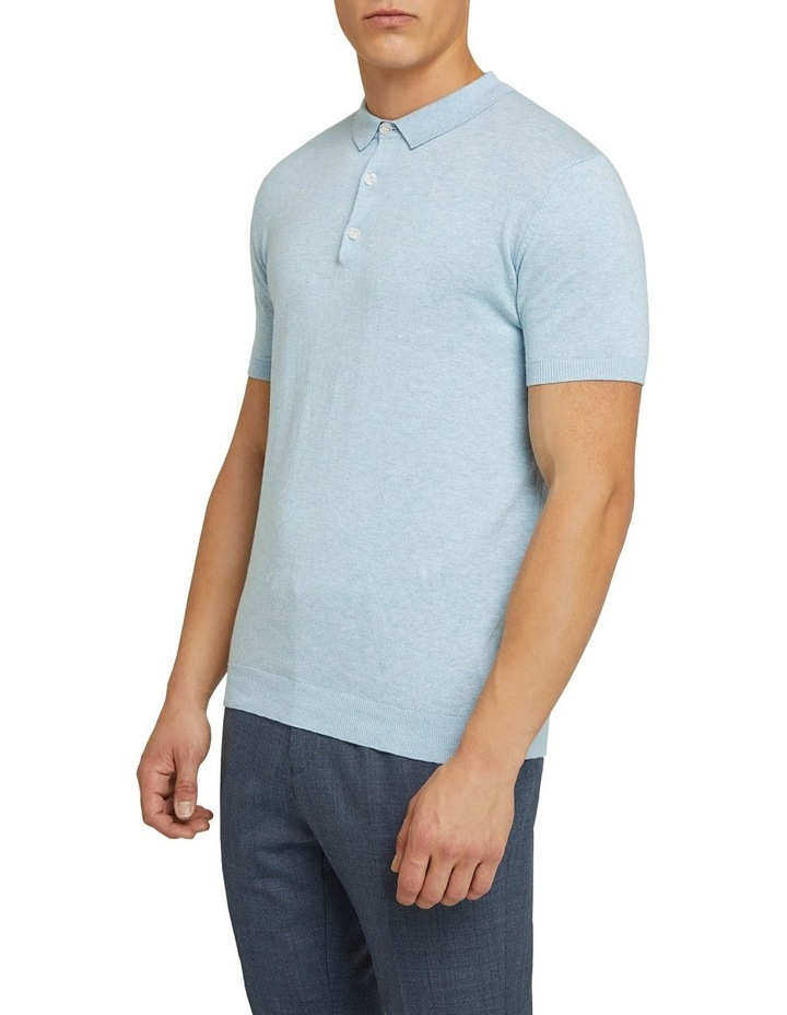 Reiss Knitted Polo image 2