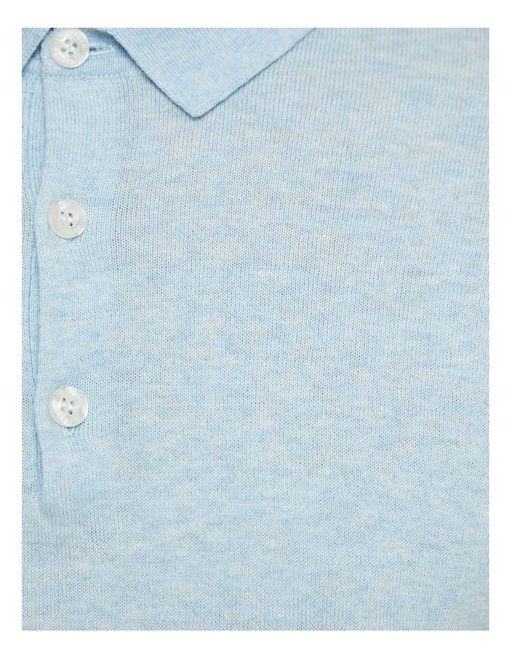 Reiss Knitted Polo image 6