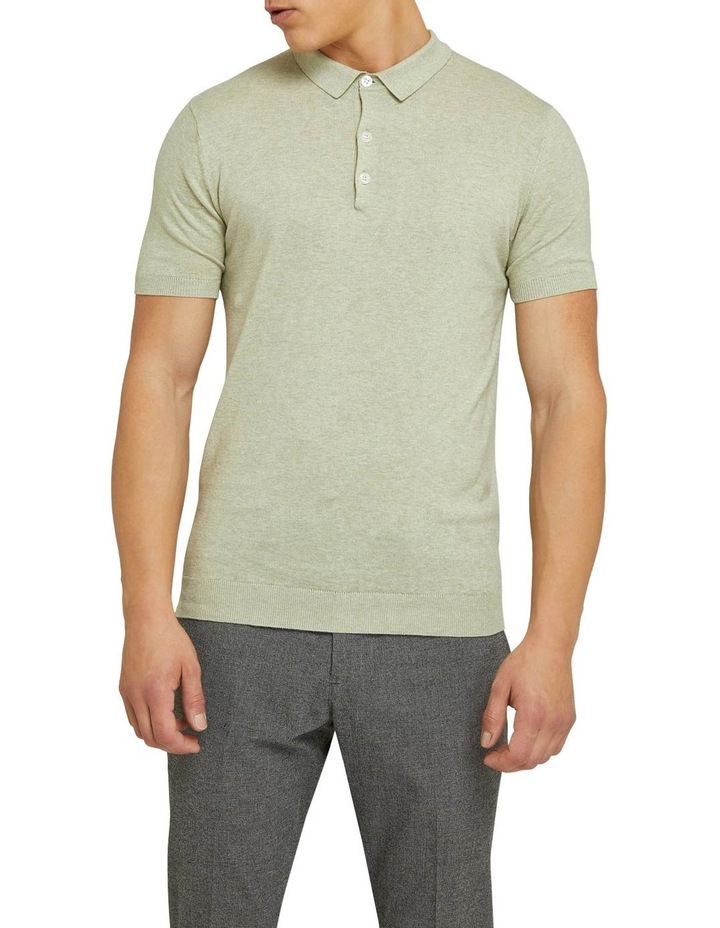 Reiss Knitted Polo image 1
