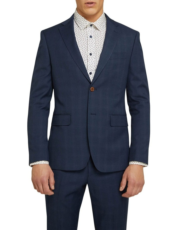 Byron Eco Checked Suit Jacket image 1