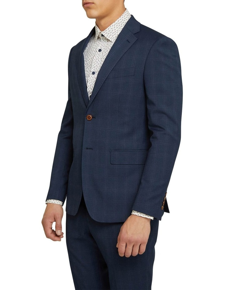 Byron Eco Checked Suit Jacket image 2