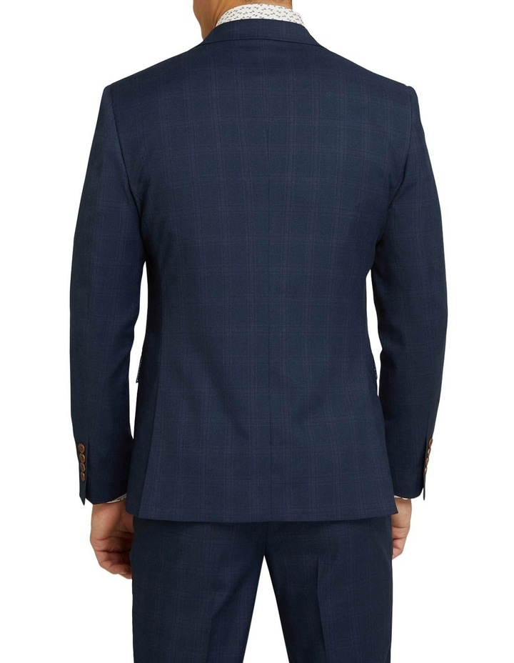Byron Eco Checked Suit Jacket image 3