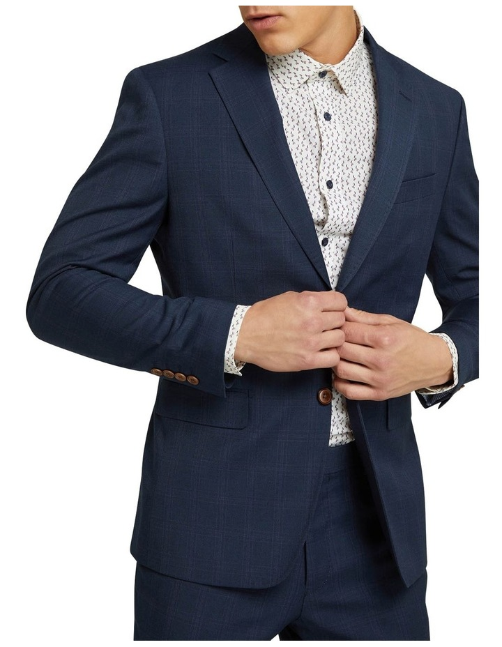 Byron Eco Checked Suit Jacket image 4