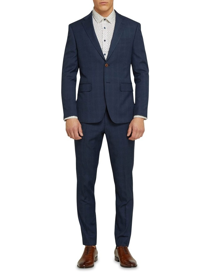 Byron Eco Checked Suit Jacket image 5