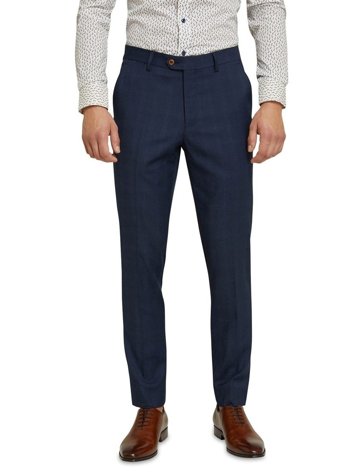 Byron Eco Checked Suit Trousers image 1