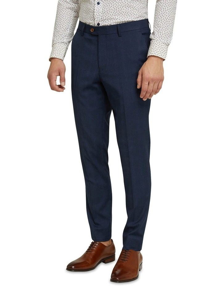 Byron Eco Checked Suit Trousers image 2