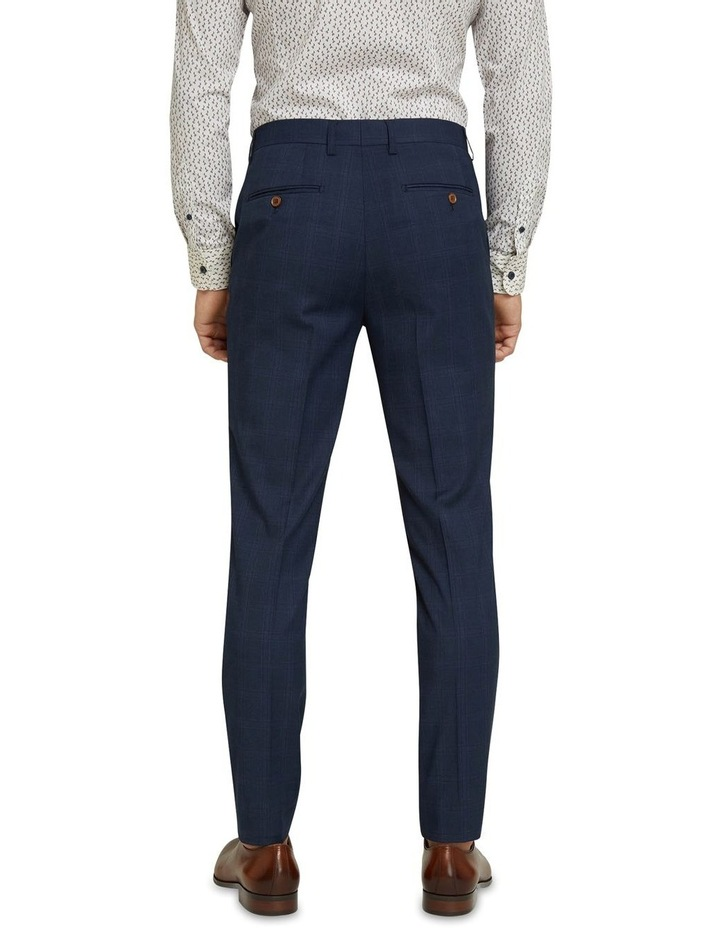 Byron Eco Checked Suit Trousers image 3