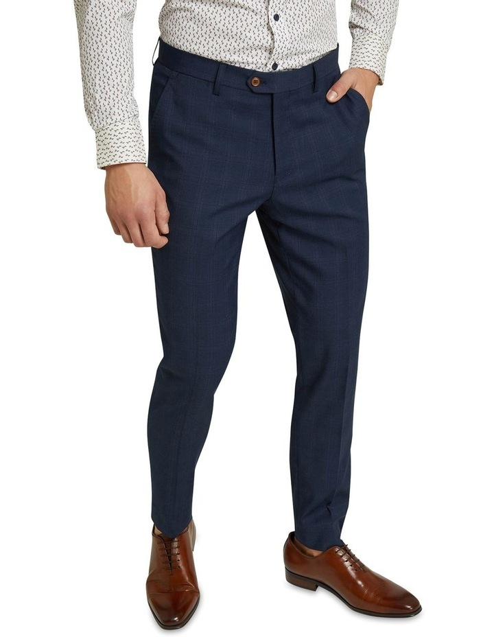 Byron Eco Checked Suit Trousers image 4