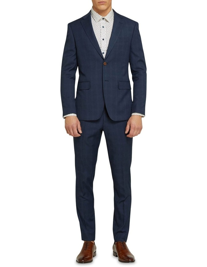 Byron Eco Checked Suit Trousers image 5