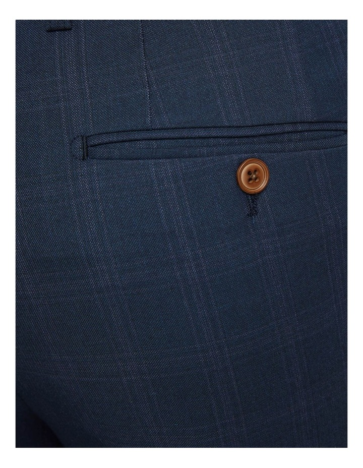 Byron Eco Checked Suit Trousers image 6