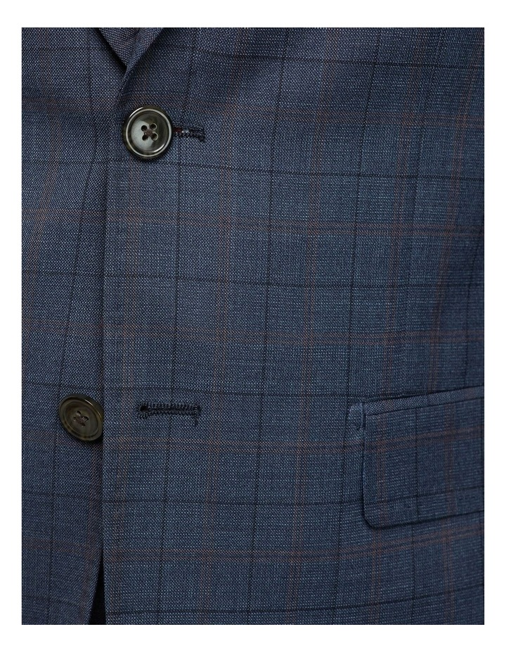 Byron Wool Stretch Checked Jacket image 6