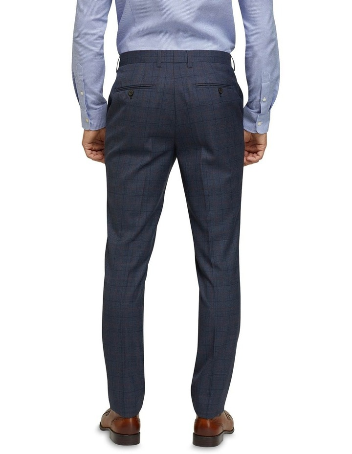 Byron Wool Stretch Checked Trousers image 3