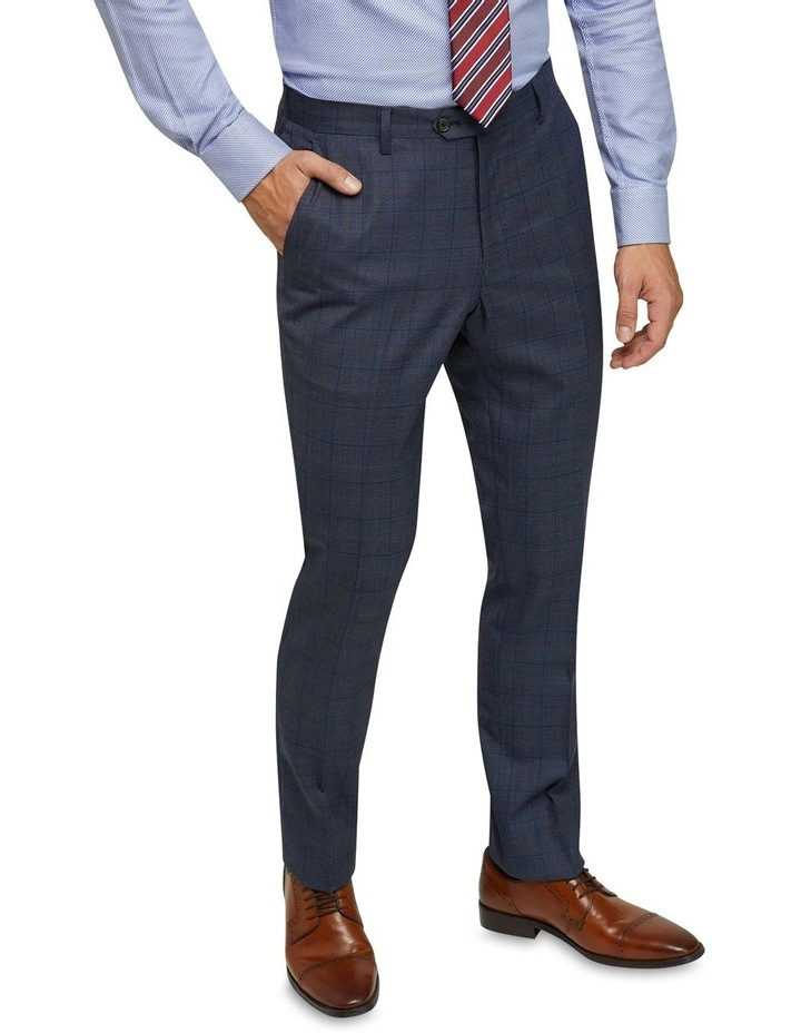Byron Wool Stretch Checked Trousers image 4